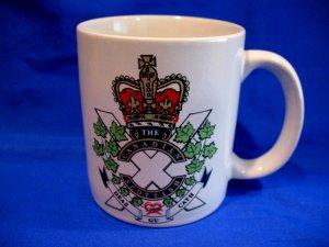Canadian Scottish Regiment Infantry Reserve Unit Coffee Mug Tea Cup Souvenir