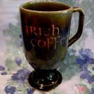 Irish Coffee Mug Tea Cup Ireland WADE Souvenir Collector Green