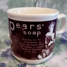 Vintage Pear's Pears Soap Advertising Coffee Mug Tea Cup