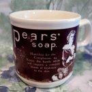 Vintage Pear's Pears Soap Advertising Coffee Mug Tea Cup