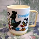 Vintage Disneyland Childs Drinking Cup Mug Donald Duck Daffy Nephews