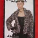 Patons Designer Series Knitting Patterns ADULTS Sizes Blanket Coat Mink Stole Capelet Bag Bolero