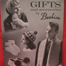 Vintage Beehive Knitting Patterns FAMILY GIFTS and ACCESSORIES Mitts Scarfs Toques etc