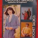 Vintage Crochet Crocheting Patterns FAMILY Sweater Shawl Baby Jacket Ponchos Afghan etc