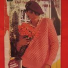 Vintage Patons Knitting Patterns LADIES Jumper Cardigan Sweater Jacket Vest Hat Scarf