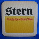 Stern Beer Coaster Mat Vintage Souvenir Collectible Deutsches Stern Bier