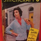 Vintage 1956 Stitchcraft Crochet Knitting Embroidery Tapestry Patterns