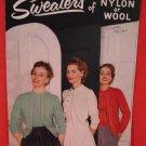 Vintage Star Crocheting Crochet Knitting Patterns ADULTS Sweaters