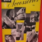 1949 Vintage Crocheting Crochet Patterns ACCESSORIES Hats Scarves Purses Belts Gloves Blouse etc
