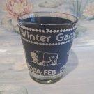 Brandon Manitoba Winter Games Shot Glass Vintage Souvenir Collectible