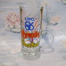 Kahlua Shooter EXPO 86 Vancouver Shot Glass Vintage Souvenir Collectible