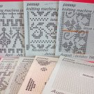 Vintage Passap Knitting Machine Journals Patterns Lot of 7 Magazines