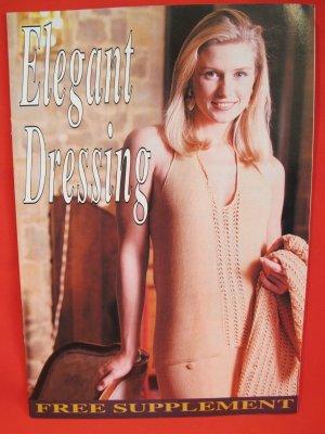 Ladies Elegant Dressing Machine Knitting Patterns News Supplement Patterns ADULTS