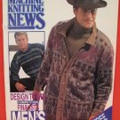 Mens Collection Machine Knitting Patterns News Supplement Patterns ADULTS
