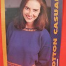 Ladies Cotton Casuals Machine Knitting News Supplement Patterns WOMEN