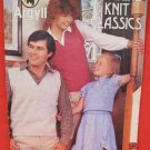Argyll Machine Knit Classics Knitting Patterns FAMILY Sweaters Cardigans Vests