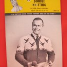 Mary Maxim Cardigan Sweater Vintage Knitting Patterns ADULTS Mens Ducks in Flight