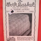 Vintage WORK BASKET Magazine Patterns March 1949