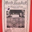 Vintage WORK BASKET Magazine Patterns May 1949