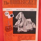 Vintage WORK BASKET Magazine Patterns December 1951
