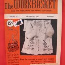 Vintage WORK BASKET Magazine Patterns February 1952