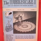 Vintage WORK BASKET Magazine Patterns December 1953