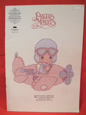 Vintage Precious Moments Cross Stitch Patterns Occupations
