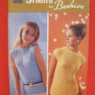 Vintage Retro Knitting Crochet Crocheting Patterns LADIES Shells Sweaters