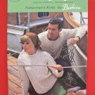 Patons Arran Aran Fisherman Knits Knitting Patterns FAMILY Sweaters