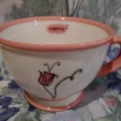 Starbucks Coffee Mug Tea Cup PINK FLOWER Inspiring 2006