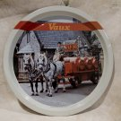 Vintage VAUX BEER Tray Souvenir Collector GREAT BRITAIN ALE Horses Kegs
