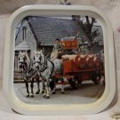 Vintage VAUX BEER Tray Souvenir Collector GREAT BRITAIN ALE Horses ALE Kegs