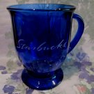 STARBUCKS Coffee Mug Tea Cup COBALT BLUE Large Size