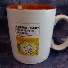 STARBUCKS Coffee Mug BREAKFAST BLEND Large 15 ounce Size