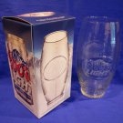 COORS LIGHT FOOTBALL BEER Glass Souvenir Collector Collectible