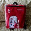 MOLSON CANADIAN BEER Backpack Chiller Pack Cooler Tote CANADA Souvenir RED Perfect Balance