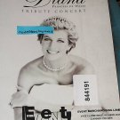 Princess Diana - Tribute Concert book program HTF e UK