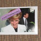 Princess Diana  4x6 photo black & white outfit