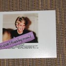 Princess Diana photo 4x6  ~ dark suit & pearls ~ classy