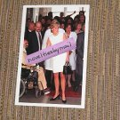 Princess Diana photo 4x6   ~  white versace dress ~