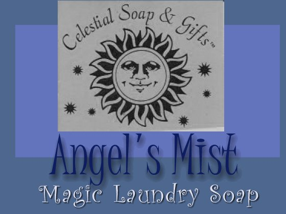 Angel's Mist Natural VEGAN Laundry Soap Powder SAMPLE 6 oz. 5-10 LOADS