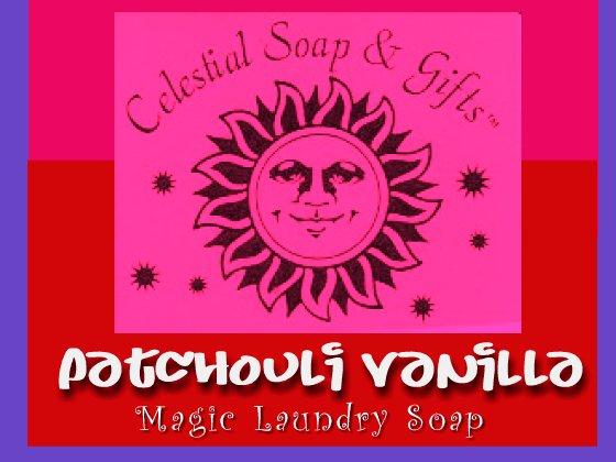 Patchouli Vanilla Natural VEGAN Laundry Soap Powder SAMPLE 6 oz. 5-10 LOADS