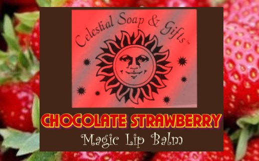 Chocolate Strawberry Magic Lip Balm .15 oz. Tube Vegan