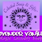 Lavender Vanilla Natural VEGAN Laundry Soap Powder 1 pound/lb. - 40-80 LOADS  44 oz.