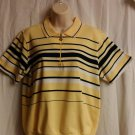 Hasting & Smith XL Petites short sleeve yellow polo type