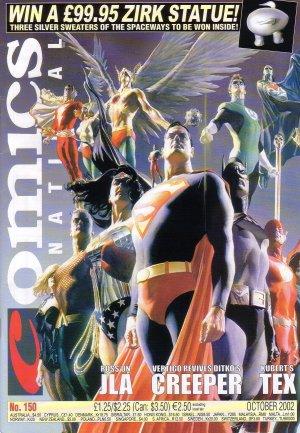 Comics International #150 VF 1982 - JLA Cover Alex Ross