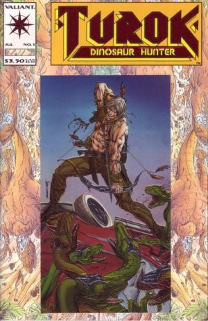 Turok Dinosaur Hunter #1 - Bart Sears Valiant Comics 1993