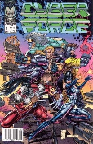 Cyber Force #1 - Marc Silvestri Image Comics 1992