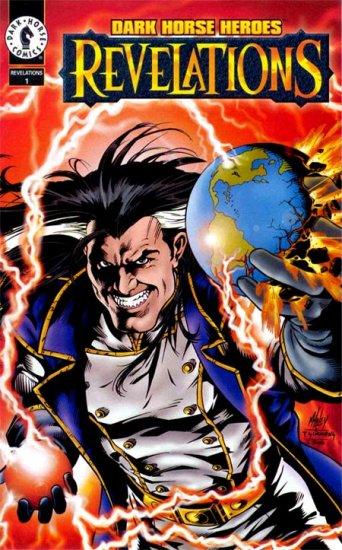 Dark Horse Heroes Revelations NM 1995 - Promo Ashcan Comic Book