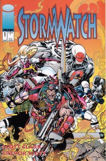 Stormwatch #1 NM 1993 - Scott Clark